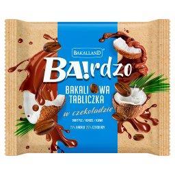 Ba!rdzo Bakaliowa tabliczka w czekoladzie daktyle kokos kawa