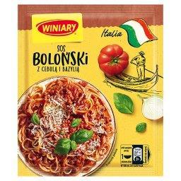 Italia Sos boloński z cebulą i bazylią
