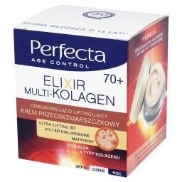 Age Control Elixir Multi-Kolagen 70+ Krem przeciwzmarszczkowy na dzień i noc