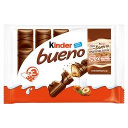 Bueno Wafel w mlecznej czekoladzie wypełniony mleczn...