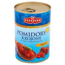 Smaki kuchni śródziemnomorskiej Pomidory krojone w soku pomidorowym klasyczne