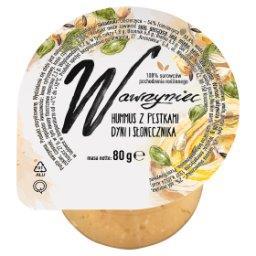 Hummus z pestkami dyni i słonecznika