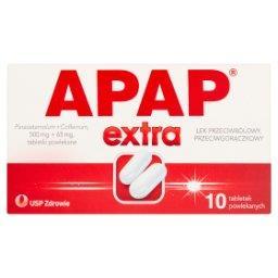Extra Lek przeciwbólowy przeciwgorączkowy 10 sztuk