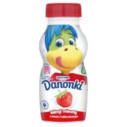 Danonki Koktajl mleczny o smaku truskawkowym