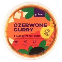 Czerwone curry z warzywami z tofu