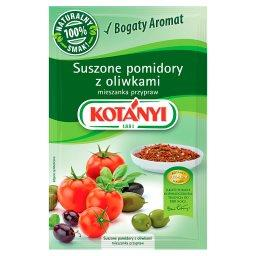 Suszone pomidory z oliwkami mieszanka przypraw