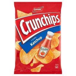 Chipsy ziemniaczane o smaku ketchup