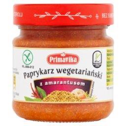 Paprykarz wegetariański z amarantusem