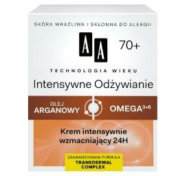 Technologia Wieku 70+ Intensywne Odżywianie Krem intensywnie wzmacniający 24H