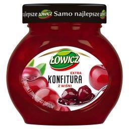 Konfitura extra z wiśni o obniżonej zawartości cukró...