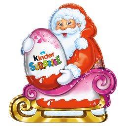 Niespodzianka Mikołaj Figurka pokryta mleczną czekoladą