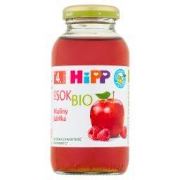 BIO Sok 100% maliny-jabłka po 4. miesiącu