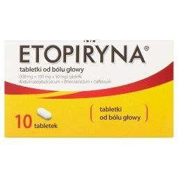 Tabletki od bólu głowy 10 sztuk