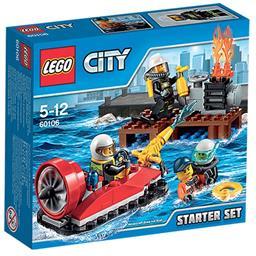 Klocki City 60106 strażacy zestaw startowy