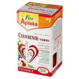 Suplement diety herbatka ziołowa ciśnienie-norma 40 ...