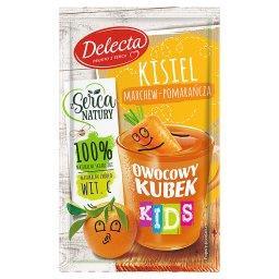 Owocowy kubek Kids Kisiel marchew-pomarańcza