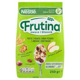 Frutina Owoce i Błonnik Płatki z pełnego ziarna pszenicy z jabłkami i rodzynkami