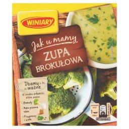 Jak u Mamy Zupa brokułowa