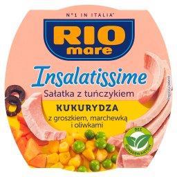Insalatissime Sałatka z tuńczykiem kukurydza z grosz...