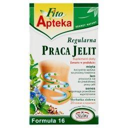 Suplement diety herbatka ziołowa regularna praca jel...