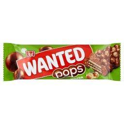 Wanted Pops Wafel z kremem o smaku orzecha laskowego