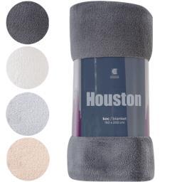 Koc dekoracyjny Houston 150 x 200 cm mix kolorów