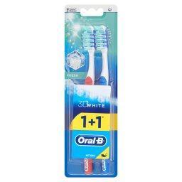 3D White Fresh Szczoteczka do zębów średnia 40 2 sztuki