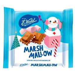 Czekolada mocno mleczna z piankami marshmallow