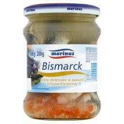 Bismarck Płaty śledziowe w zalewie octowo-korzennej