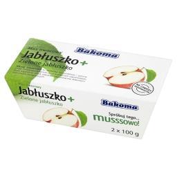 Mus owocowy Jabłuszko + Zielone jabłuszko 200 g (2 s...