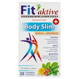 Fit aktive Body Slim Suplement diety herbatka ziołow...