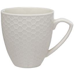 Kubek porcelanowy Honey biały 430ml
