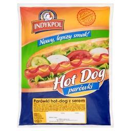 Parówki hot-dog z serem