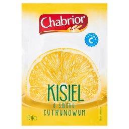 Kisiel o smaku cytrynowym