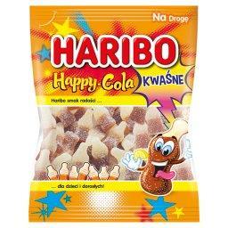 Happy-Cola Kwaśne żelki o smaku coli