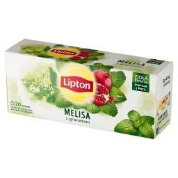 Herbatka ziołowa aromatyzowana melisa z granatem 24 ...