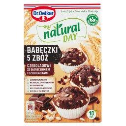 My Natural Day Babeczki 5 zbóż czekoladowe ze słonec...