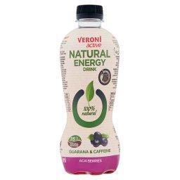 Active Natural Energy Drink Napój gazowany energetyzujący jagody acai