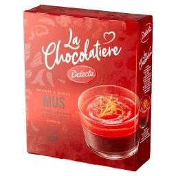 La Chocolatiere Mus czekoladowy z sosem o smaku poma...