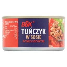 Tuńczyk w sosie pomidorowym