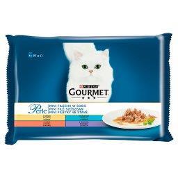 Perle Karma dla kotów kolekcja mini filecików w sosi...