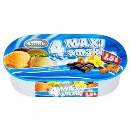4 Maxi smaki Lody waniliowo-czekoladowo-ajerkoniakow...