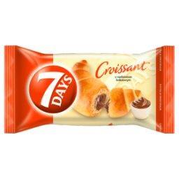 Croissant z nadzieniem kakaowym