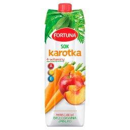 Karotka Sok marchew brzoskwinia jabłko + witaminy A ...
