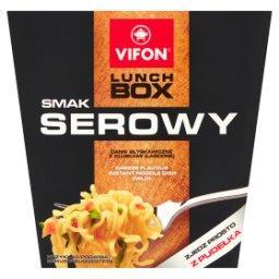 Lunch Box Danie błyskawiczne smak serowy