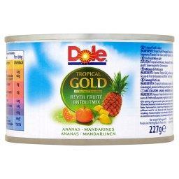 Tropical Gold Mix śniadaniowy Mieszanka kawałków owoców w soku