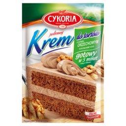Krem do tortów o smaku orzechowym