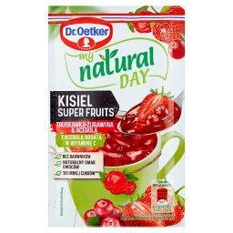 My Natural Day Kisiel Super Fruits truskawka-żurawin...