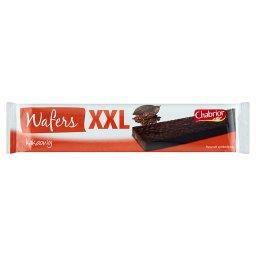 XXL Wafel w czekoladzie przekładany kremem kakaowym
