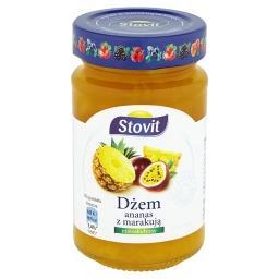 Dżem ananas z marakują niskosłodzony
